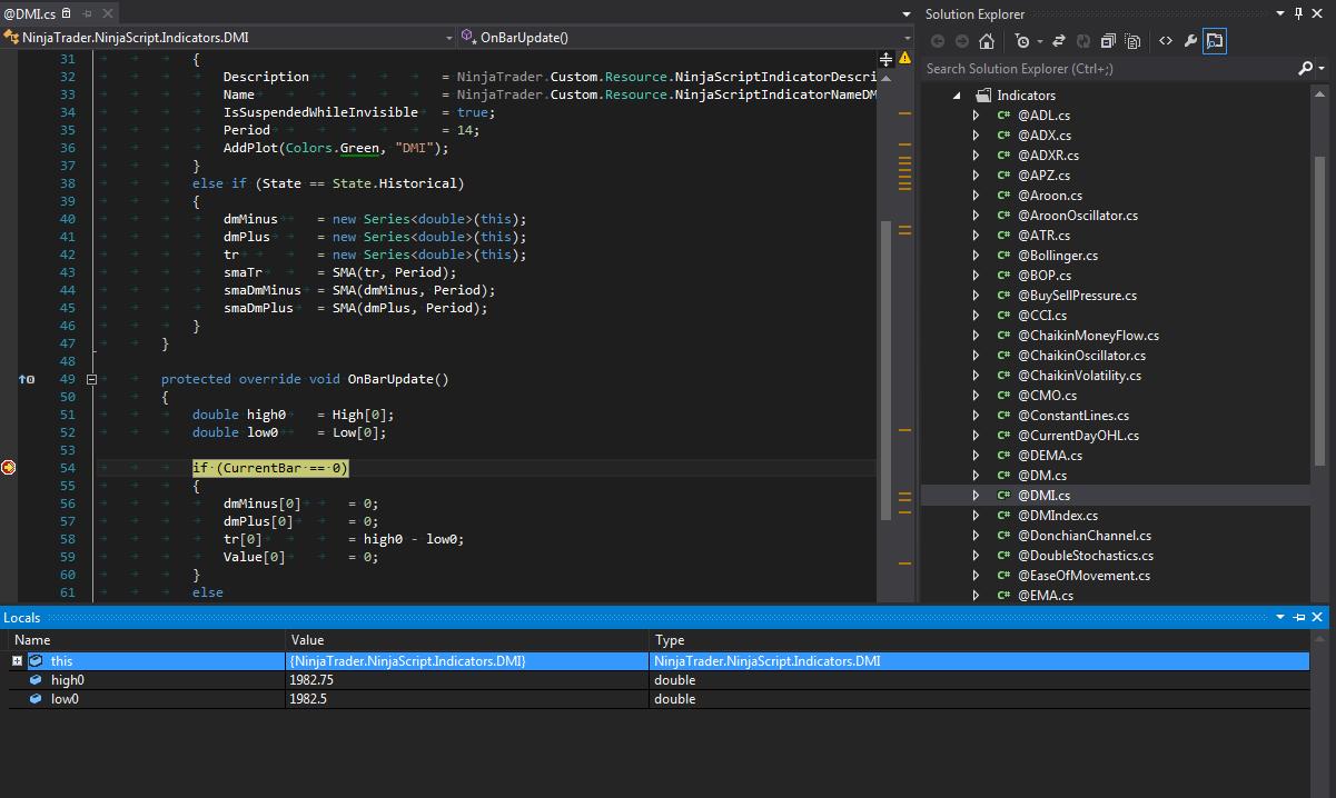 Programming NinjaTrader - Custom NinjaTrader Indicators